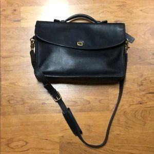 Vintage Coach Lexington black briefcase 💼